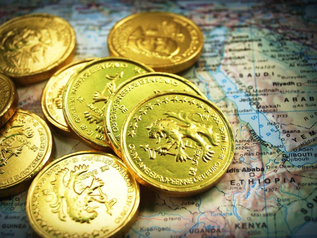 Goldmünzens ind ein beliebtes Pfandobjekt